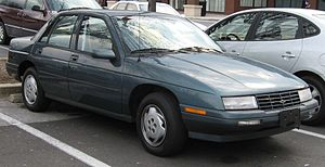 Chevrolet Corsica - 1995–1996 Chevrolet Corsica