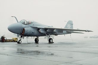 VMFA(AW)-224 - Grumman A-6 Intruder from VMA(AW)-224 on the flightline at MCAS Cherry Point in 1984.
