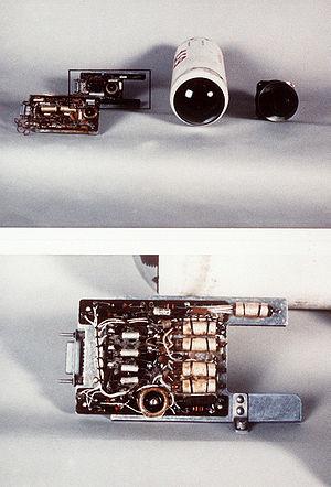 K-13 (missile) - K-13 missile's seeker.