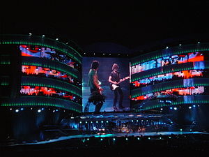A Bigger Bang (concert tour) - Image: A Bigger Bang Twickenham 3