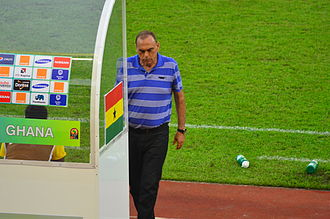 Avram Grant - Grant as a coach of Ghana.