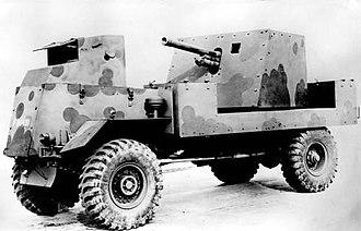 Deacon (artillery) - Image: AEC Deacon