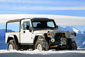 American Expedition Vehicles - AEV Brute pickup