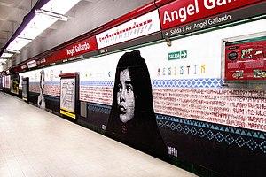 Ángel Gallardo (Buenos Aires Underground) - Image: A Gallardo GCBA (1)