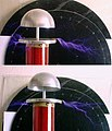 A Classical Tesla Coil with Top Load Tuning II.jpg