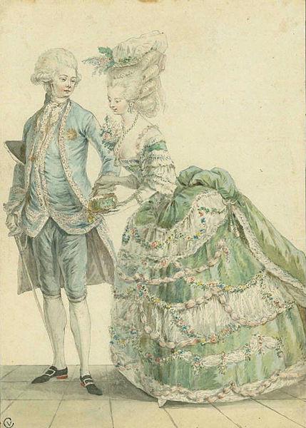 File:A Fashionable Couple - Le Clerc 1779.jpg