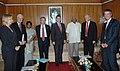 A German Parliamentary delegation called on the Speaker, Lok Sabha, Shri Somnath Chatterjee, in New Delhi on August 31, 2007.jpg