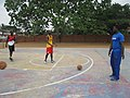 A Ghanaian Basketball Coach Team Training.jpg