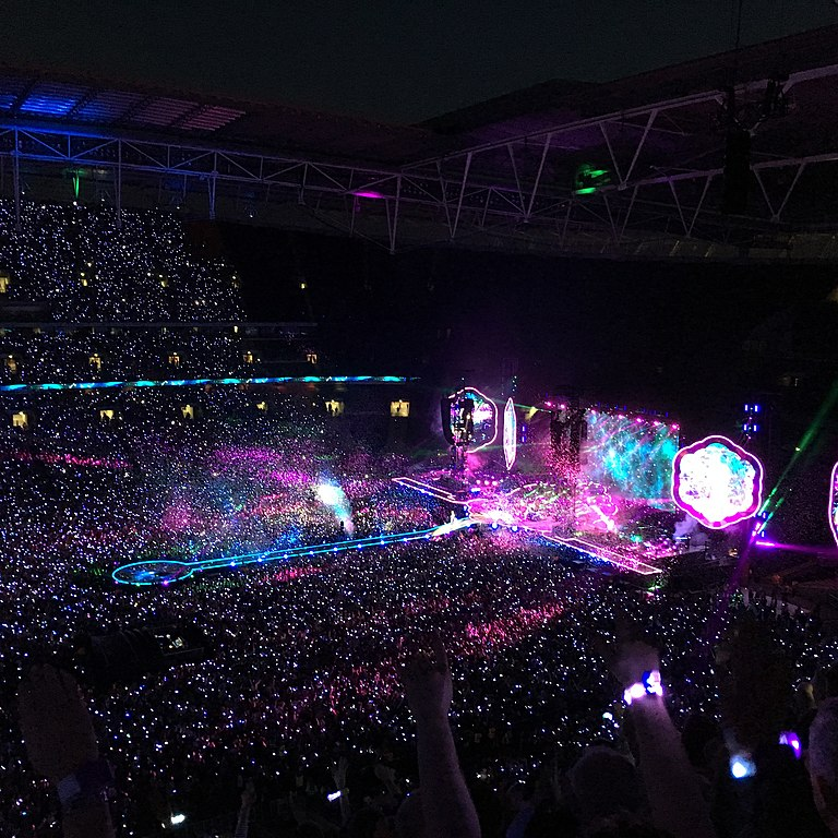 Coldplay Tour  London