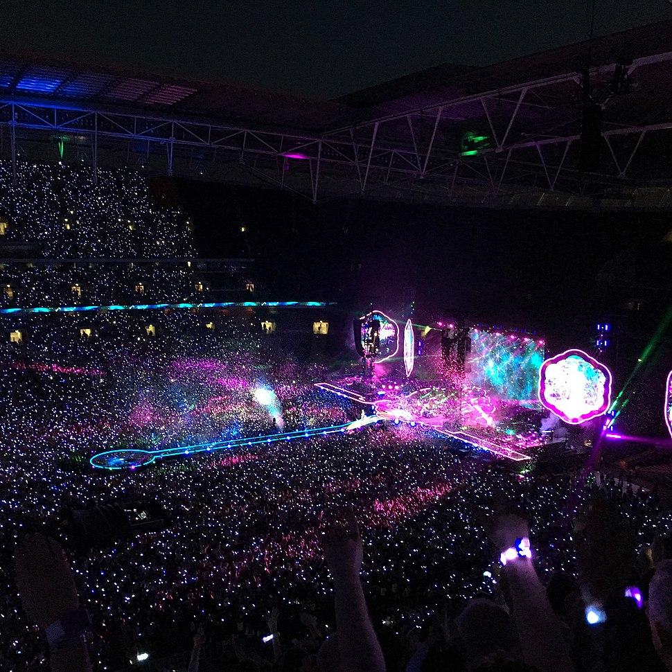 A Head Full of Dreams Tour, Wembley Stadium
