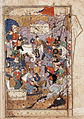 A Major Personage Arriving on a White Elephant- Page from a Manuscript of the Haft Awrang of Jami LACMA M.73.5.11.jpg