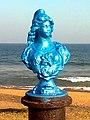 A Statue at Bheemunipatnam Beach Park.jpg