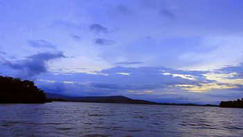 A blue evening at the bank of Johilla river.jpg