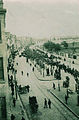 A funeral procession in front of the Pangalti Surp Hagop Armenian Cemetery, 1913.jpg