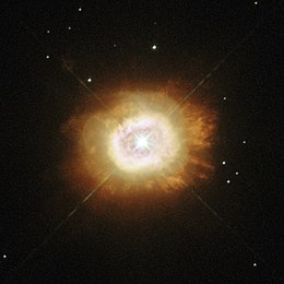 a giant smouldering star