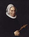 A lady holding a crucifix, by Willem van der Vliet.jpg