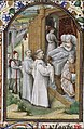 A priest on his way to a dying person to administer extreme unction - Book of hours Simon de Varie - KB 74 G37a - 037r min.jpg