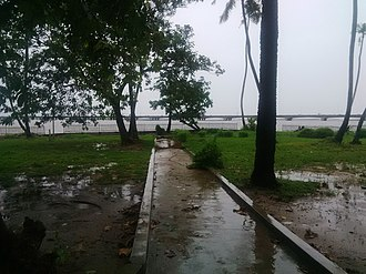 University of Lagos - Image: A walkway at the University of Lagos Lagoon Front