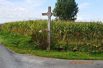 Aast, Pyrénées-Atlantiques - A Wayside Cross in Aast