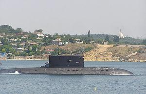 Russian submarine B-871 - Image: Ab podlodka