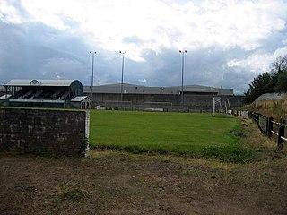 Firs Park Former football stadium in Falkirk, Scotland