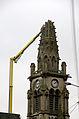 Abbeville (église St-Jacques) démolition de la flèche 4627.jpg