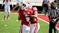Abbrederis after touchdown catch against UTEP 2012.jpg