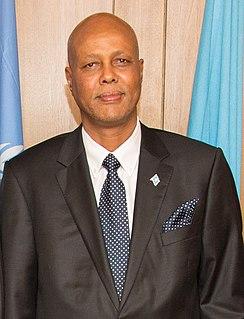 Abdiweli Sheikh Ahmed Prime Minister of Somalia