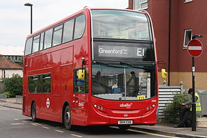 Abellio London West 2445 on Route E1, Greenford Broadway.jpg