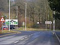 Abergwili Roundabout and County Museum Entrance - geograph.org.uk - 1715118.jpg