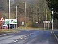 Abergwili Roundabout and County Museum Entrance - geograph.org.uk - 1715118.jpg