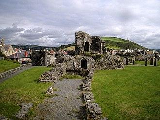 Aberystwyth Castle - Image: Aberystwyth Castle 01
