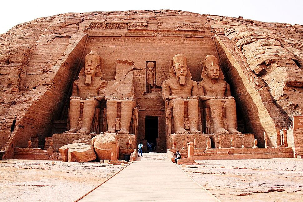 Abu Simbel, Großer Tempel 196