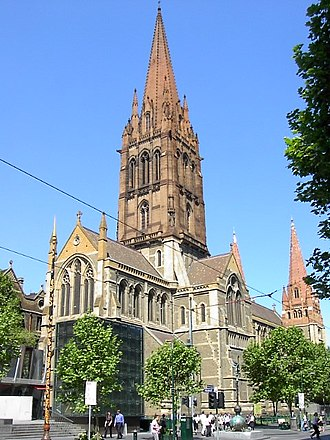 Anglican Diocese of Melbourne - St Paul's Cathedral, Melbourne.