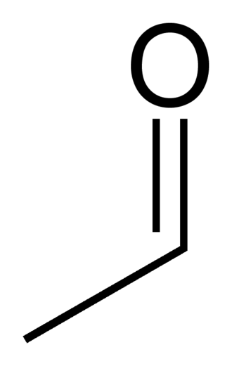 Acetaldehyde - Image: Acetaldehyde tall 2D skeletal
