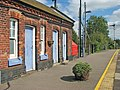 Acle railway station - platform and former waiting rooms - geograph.org.uk - 1477366.jpg