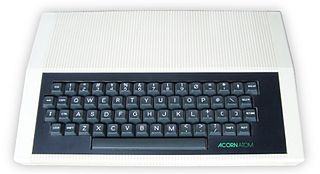 Acorn Atom home computer made by Acorn Computers Ltd