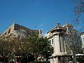 Acròpoli i monument a Lisícrates, Atenes.JPG