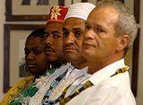 Bras�lia - L�deres religiosos do camdombl�. Foto: Elza Fi�za/ABr
