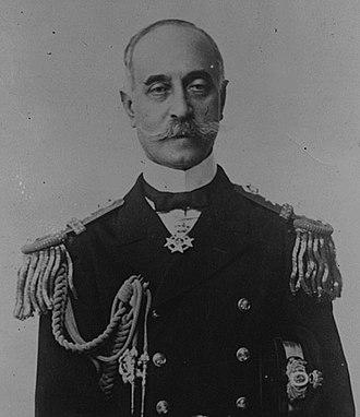 Greek cruiser Georgios Averof - Admiral Pavlos Kountouriotis, 1920