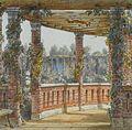 Adolf Jossiffowitsch Charlemagne, Villa Berg, Laubengang 2, 1857.jpg