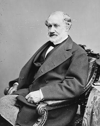 Adolph E. Borie - Image: Adolph Borie, Brady Handy bw photo portrait, ca 1860 1875