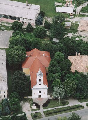 Adony - Adony, church