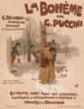 Advertisement for the music score of La Bohème, 1895.png