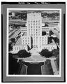 Aerial view,east (principal) elevation - Houston City Hall, 901 Bagby Street, Houston, Harris County, TX HABS TEX,101-HOUT,5-1.tif