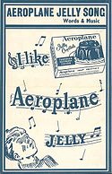 Aeroplane jelly sheet music