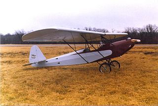 Aerotique Parasol aircraft