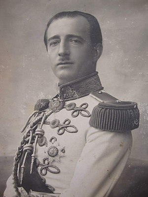 Leader of the Opposition (Albania) - Image: Ahmet Zogu 1895 1961
