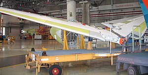 Airbus A320 family - A320 parts are manufactured throughout Europe, like the horizontal stabilizer in Spain.