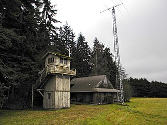 Aircraft Warning Service Observation Tower - Image: Aircraft Warning Tower NRHP 93000363 Clallam Co